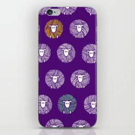 Yarn Ball Sheep iPhone Skin