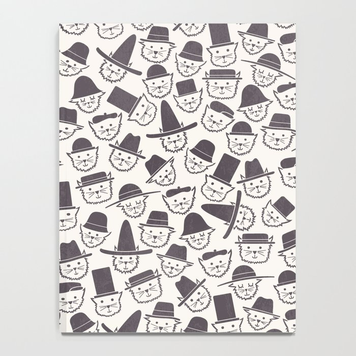 Cats With Hats Notebook