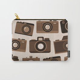 cameras (white) Carry-All Pouch