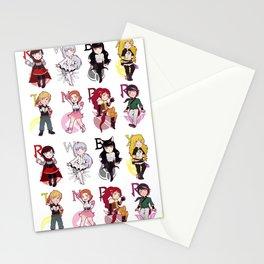 RWBY + JNPR Stationery Cards