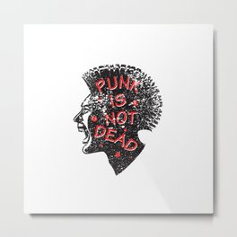 Punk is not dead at all Metal Print