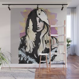 Blonde Wall Mural