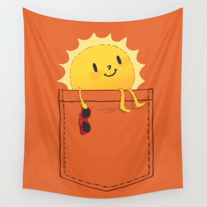 Pocketful of sunshine Wall Tapestry