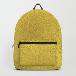 Simply Metallic in Yellow Gold Backpack