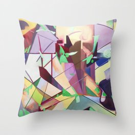 Color of Space Throw Pillow