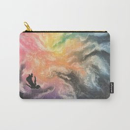 colourful sky dive Carry-All Pouch