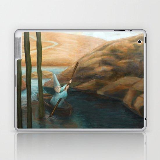In his Boat Laptop & iPad Skin