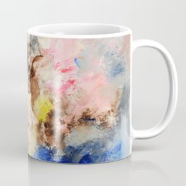 The confrontation of the clouds. Bright abstract art. Coffee Mug