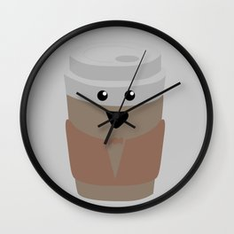 Joyous Coffee Wall Clock