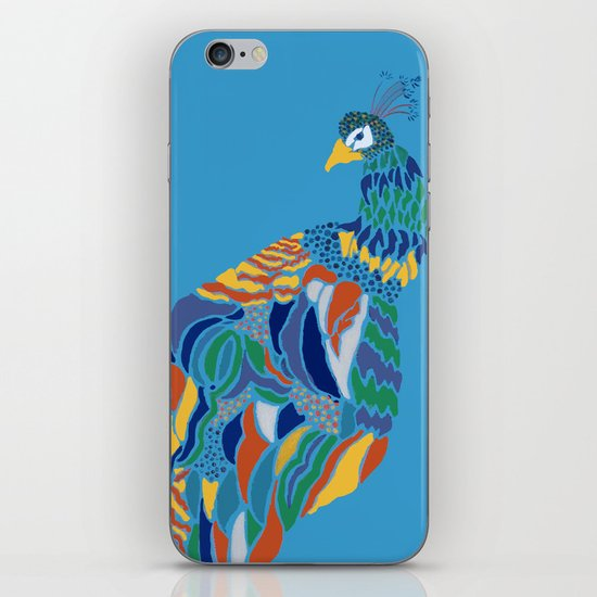 Pavo Cristatus iPhone & iPod Skin