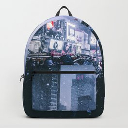 NYC Neon Winter Backpack