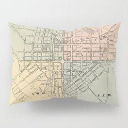 Vintage Map of Lancaster PA (1864) Pillow Sham