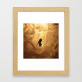 The End of the Grim Journey Framed Art Print