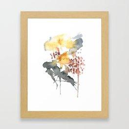 Aquarelle Framed Art Print