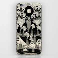 The Mountains Wept For Her iPhone & iPod Skin