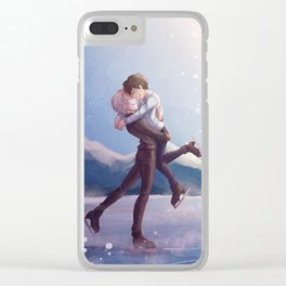 Born to make History Clear iPhone Case
