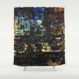 MOTOS Shower Curtain