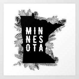 Minnesota Pine Art Print