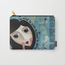 Coco's Closet- Be Kind. Be Brave. Be Honest. Be Daring Carry-All Pouch