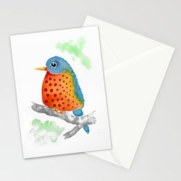 Polka Dot Bluebird Stationery Cards