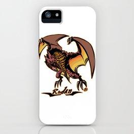 Rodan Kaiju Print FC iPhone Case