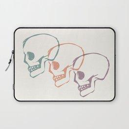 Triplet Skulls Laptop Sleeve