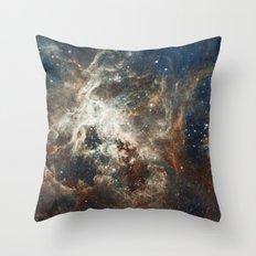 In the Heart of the Tarantula Nebula Throw Pillow