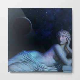 Moon Dreaming Metal Print