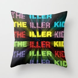 The Iller Kid Throw Pillow