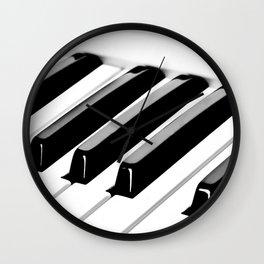 Piano (music for my ears) Wall Clock