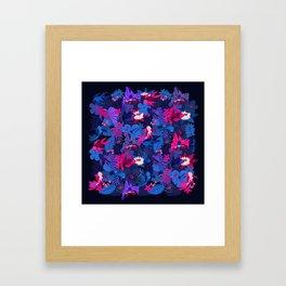 Ocean Explosion Framed Art Print