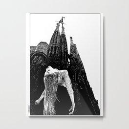 asc 335 - Les mystères de Barcelone I (The mysteries of Barcelona I) Metal Print