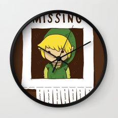 Missing Link Wall Clock
