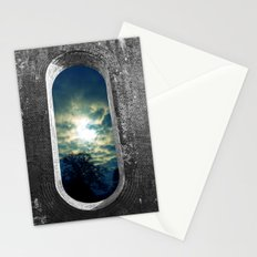 Window Through the Wall Stationery Cards