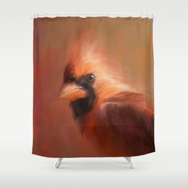 Cardinal 1 Shower Curtain