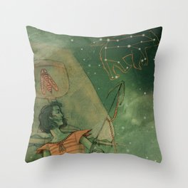 Knight of Cups Throw Pillow