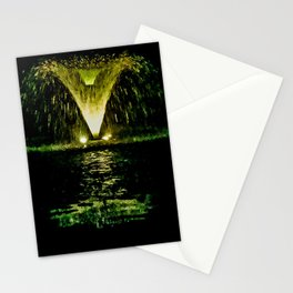 Cemetery Absinthe Fountain Stationery Cards