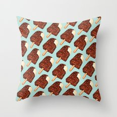 Popsicle Pattern - Ice Cream Throw Pillow