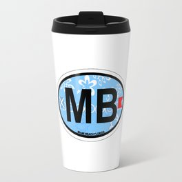 Miami Beach. Travel Mug