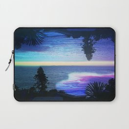 Circle Sunset Laptop Sleeve