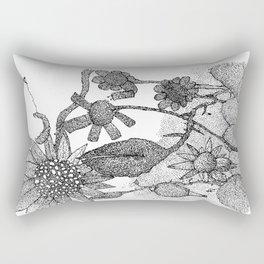 The Sun at night Rectangular Pillow
