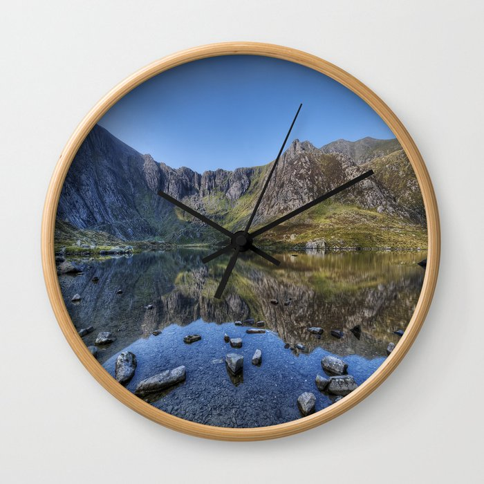 Idwal Sunrise Wall Clock