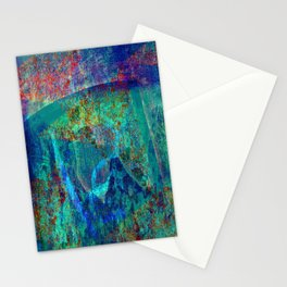 Abstract - Paintng Stationery Cards