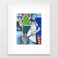 chef Framed Art Prints featuring Chef by CENTELLES