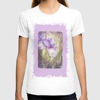 iris T-shirts featuring Iris by Kimberley Britt