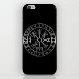 Vegvísir (Icelandic 'sign post') Symbol - REEL STEEL iPhone Skin
