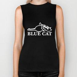 Blue Cat Records Cotton The Pioneers Rocksteady Trojan Maytones cat Biker Tank