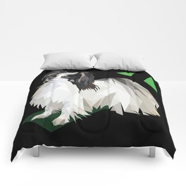 Papillon (Butterfly Dog) Comforters