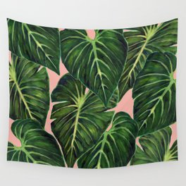 Tropical II Coral Wall Tapestry
