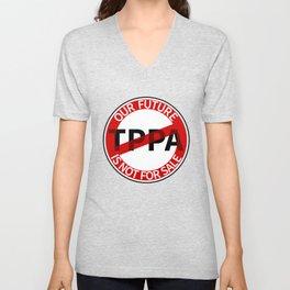 TPPA Unisex V-Neck
